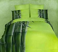 Комплект постельного белья Love You сатин Тропики полуторный