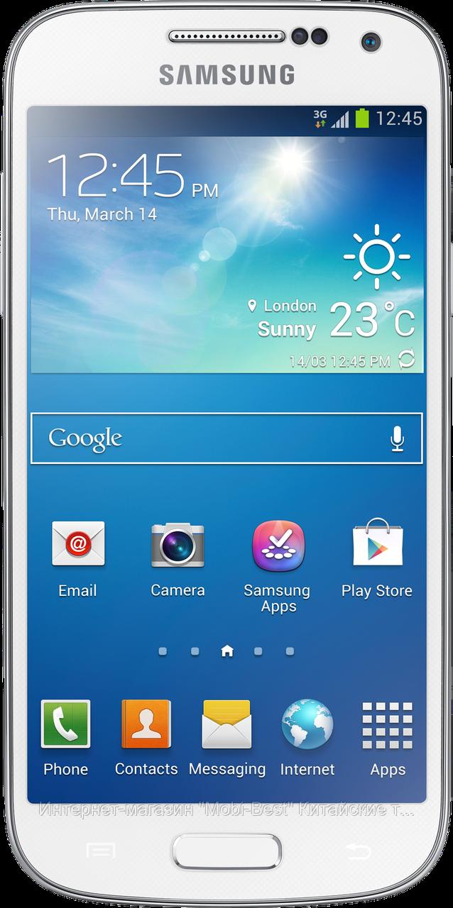 """Китайский Samsung Galaxy S4 mini, дисплей 4"""", 2 SIM, FM-радио. Заводская сборка! - Интернет-магазин """"Mobi-Best"""" Китайские телефоны и китайские смартфоны iPhone Samsung Nokia в Украине в Харькове"""