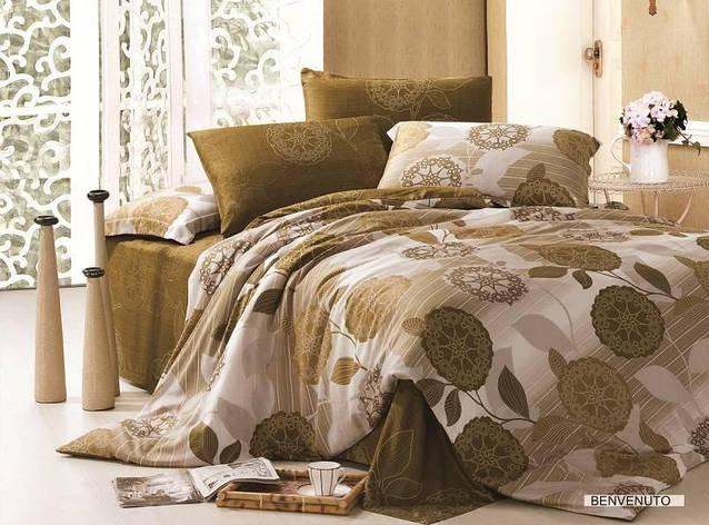 Постельное белье ARYA Tencel Benvenuto двуспальный - евро, фото 2