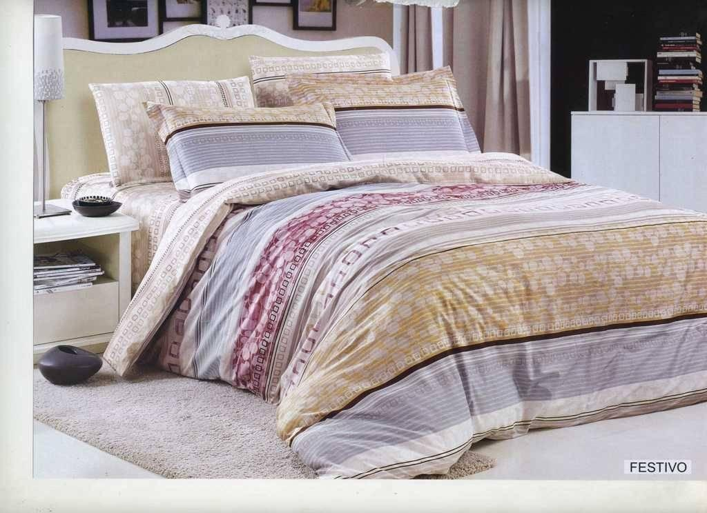 Комплект постельного белья ARYA сатин Festivo двуспальный - евро