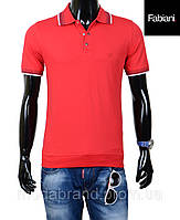 Футболка мужская модная Fabiani-4205 красная