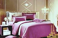 Комплект постельного белья Love you страйп фиолет 22 евро