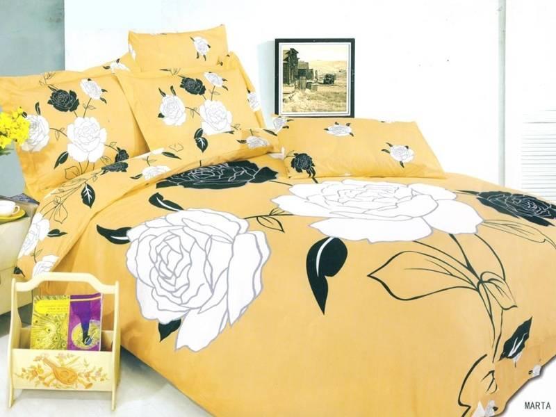 Комплект постельного белья Arya Сатин Marta двуспальный - евро