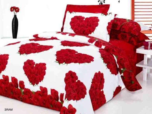 Комплект постельного белья ARYA сатин Mare семейный (2 пододеяльника), фото 2