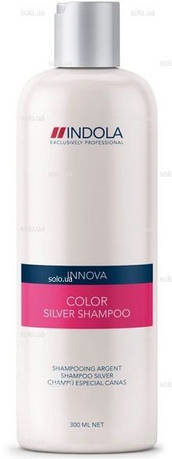 Шампунь с серебристым эффектом для окрашених волос Innova COLOR INDOLA, 300 мл