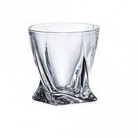 Набор стаканов для виски Bohemia Quadro 2K936-99A44-340 (340 мл, 6 шт)