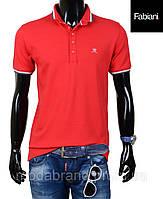 Футболка мужская модная Fabiani-4501 красная