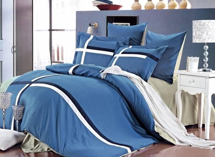 Комплект постельного белья Arya Hagen евро- 4 наволочки