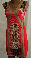 Красивое красное нарядное платье 2388