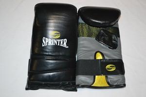 """Снарядные боксерские перчатки модель""""Everlast""""  чёрные L"""