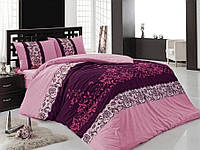 Комплект постельного белья HOBBY ранфорс ASSOS полуторный фиолетовый