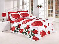 Комплект постельного белья First Choice Roseday двуспальный - евро