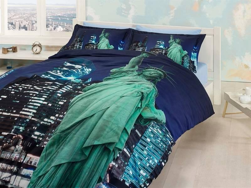 Комплект постельного белья First Choice 3 D FREE LIFE двуспальный - евро