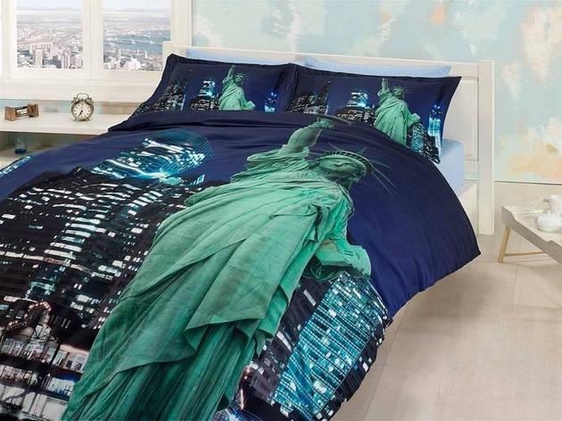 Комплект постельного белья First Choice 3 D FREE LIFE двуспальный - евро, фото 2