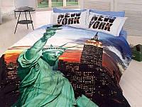 Комплект постельного белья First Choice 3 D NEW YORK евро