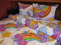 Комплект постельного белья Tirotex бязь 1,5 ка детский полуторный 1