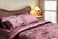 Комплект постельного белья Tivolyo Home CLASIC ROSE евро