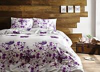 Комплект постельного белья Tivolyo Home FIORE PEMBE евро