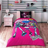 Комплект постельного белья TAC Disney Monster high best friends полуторный