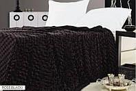 Плед ARYA з ефектом Rose Черный 160x220