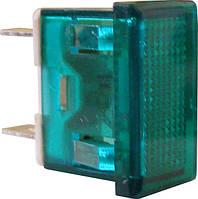 Сигнальная арматура АсКо YL238-01 зеленая 220В