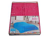 Простынь махровая Julie 200*220 малиновый 200x220