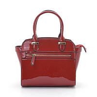 женская сумка лаковая красная