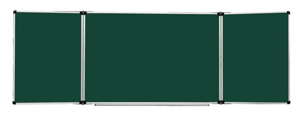 Школьная 5-ти поверх. доска металлокерамическая, мел 3000*1200