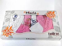 Набор Hisena kadife 2 халата + 4 полотенца 4