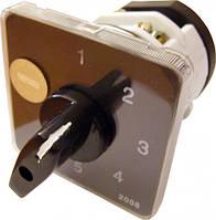 Переключатели кулачковые пакетные АсКо  ПКП Е9 16А/2.863 0-1-0-2-0-3 выбор фазы