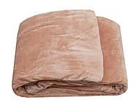 Простынь микрофибра Elwey однотонная 160 * 220 розовый 160x220
