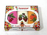 Салфетки махровые Juanna 3 штуки 30x50 3
