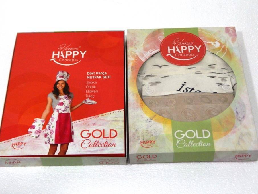 Набір для кухні Happy Gold в коробці 1