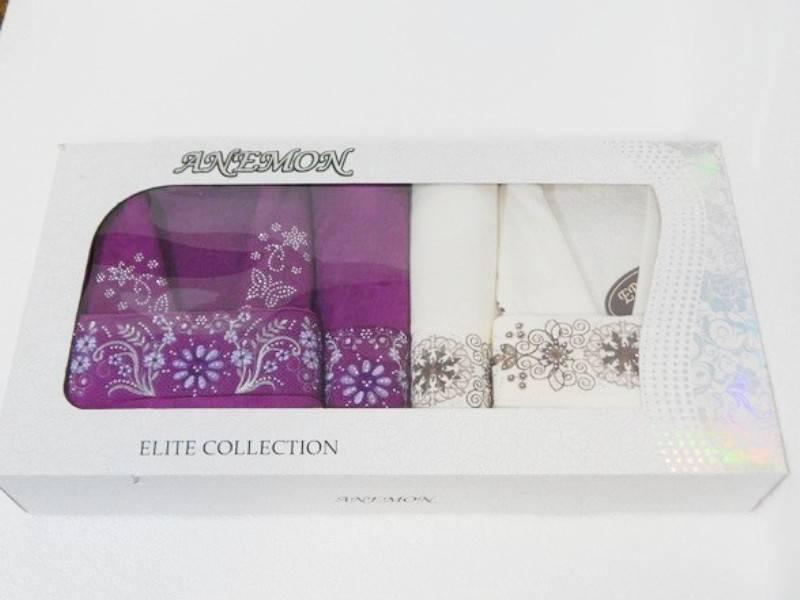 Набор Anemon kadife 2 халата + 4 полотенца 2