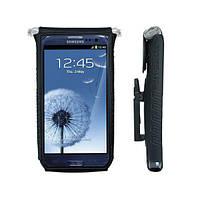 """Кейс для смартфона Topeak SmartPhone DryBag 5"""" с фиксатором, чёрный"""