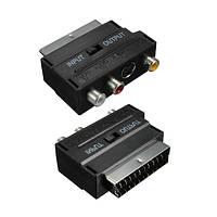 RGB Scart - Композитный RCA+S-Video переходник
