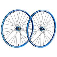 "Обод 26"" Funn Fantom Rim width In.23mm Ex.28mm, Disc Brake Anod. Blue 32H"