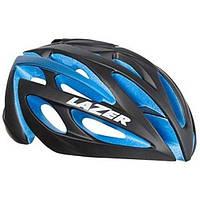 Шлем Lazer O2 ESP черный/синий, +Aeroshell, шапочка п/шлем, CappuccinoLock, чехол, размер S 52-56cm