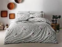 Евро двуспальное постельное белье Tivolyo Home Lisset