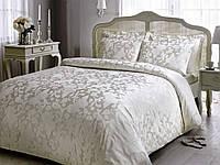 Комплект постельного белья Tivolyo Home Amelfi beyaz евро молочный