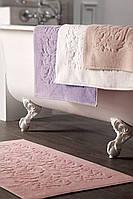 Ванный коврик белый Tivolyo Home Baroc 50х90 Белый