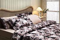 Комплект постельного белья Tivolyo Home VersaI ROSSA Черный евро