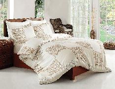 Комплект постельного белья евро размера Altinbasak Saten