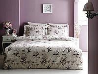 Комплект постельного белья Tivolyo Home Nature Молочный евро