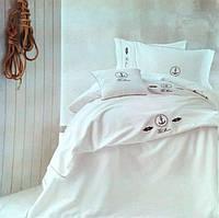 Комплект постельного белья Tivolyo Home ANCORA Nakisli евро