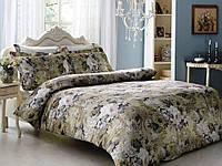 Комплект постельного белья Tivolyo Home Queen Bej семейный (2 пододеяльника)