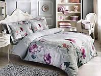 Двуспальный евро комплект постельного белья Tivolyo Home сатин DESTINO