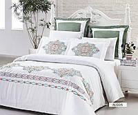 Комплект постельного с вышивкой Dream сатин Algos евро