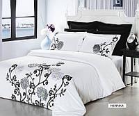 Сатиновый комплект постельного белья DreamHenrika евро