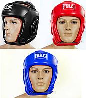 Шлем боксерский открытый с усиленной защитой макушки EVERLAST  (р-р S-L)
